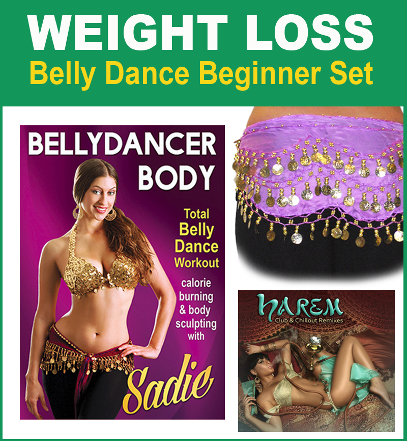 Weight loss Belly Dance Beginner Set by Weight loss Belly ...