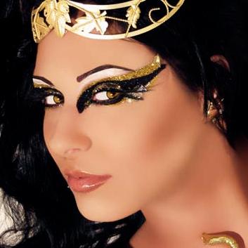 xotic eyes makeup kit  desire egyptian / cleopatra