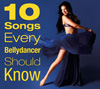 10 Songs Every Bellydancer Should Know - CD