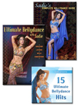 Learn Belly Dance with Sadie 2-DVD & CD SET
