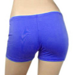 Boyshort Dance Undergarment Costume Shorts - BLUE