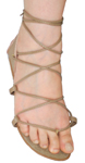 DANSHUZ Hermes Sandals Belly Dance Shoes