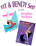 Fit & Bendy Body Set! Kristina Nekyia - 2 DVD SET