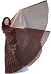Isis Wings Belly Dance Costume Prop - COPPER / BRONZE