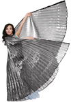 Isis Wings Belly Dance Costume Prop - HEMATITE