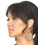 Exotic Nashik Ornate Filigree Earrings - GOLD