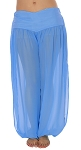 Belly Dancer Harem Pants - BLUE AZURE
