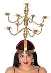 Shamadan / Candelabra for Egyptian Dance - GOLD