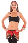 Belly Dance Basics Accessory Kit - RED