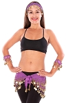 Belly Dance Basics Accessory Kit - PURPLE