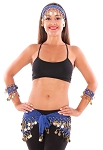 Belly Dance Basics Accessory Kit - ROYAL BLUE