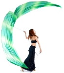 Poi Veils Set - TROPICAL BREEZE