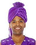 Aladdin Sultan Turban - PURPLE
