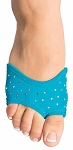 Half-Shoe Neoprene Dance Shoes with Rhinestones - TURQUOISE