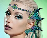 Xotic Eyes Mermaid Sea Life Ear Wings and Tiara