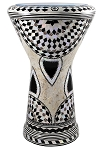 Doumbek/Tabla (Egyptian Drum) with Mother of Pearl Mosaic Inlays - SADAF
