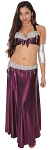 Midnight Plum Egyptian Style Belly Dance Costume