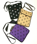 Om Symbol Cotton Messenger Bag or Purse - ASSORTED COLORS