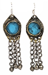 Afghani Dangle Earrings with Bells- ASSORTED