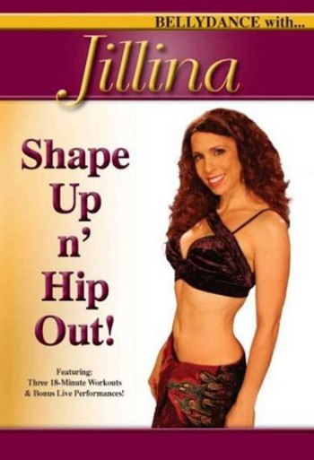 Shape Up 'n Hip Out with Jillina - DVD
