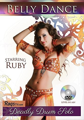 Deadly Drum Solo with Ruby  (2 DVD Set) - Instructional Belly Dance DVDs