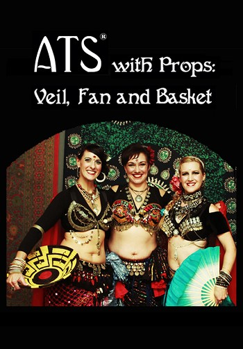 ATS with Props: Veil, Fan and Basket - 3 DVD SET