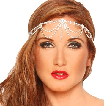 Princess of Cairo Deluxe Rhinestone Headpiece