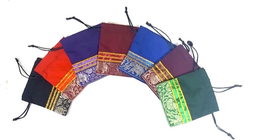 Sari Zill / Finger Cymbals Bag - available in assorted colors