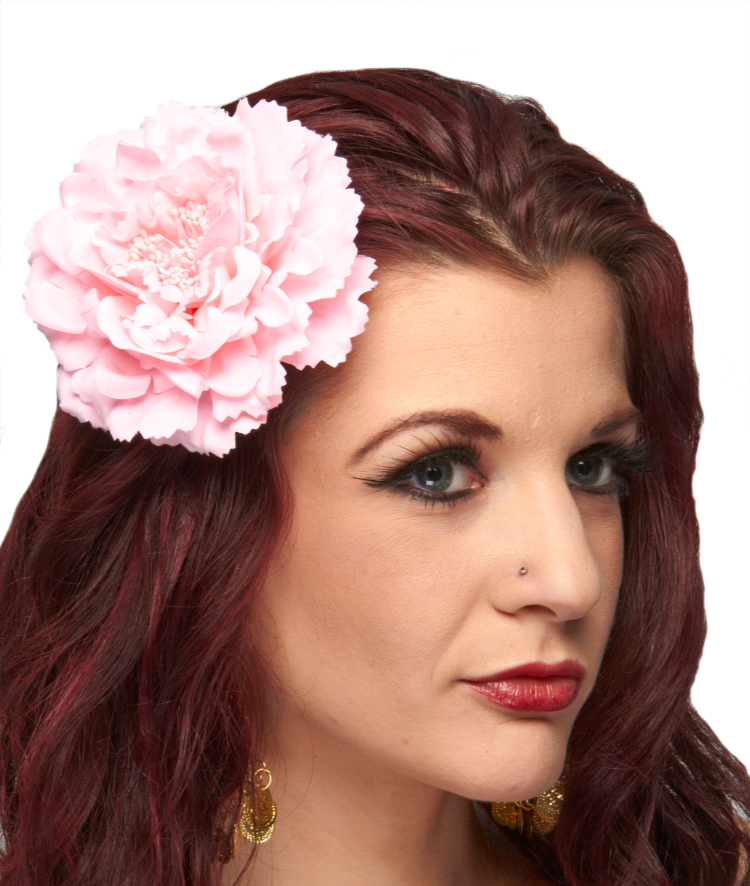 Hair Flower Costume Accessory - PINK
