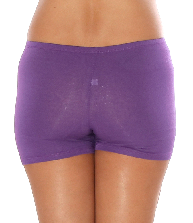 Boyshort Dance Undergarment Costume Shorts - DARK PURPLE