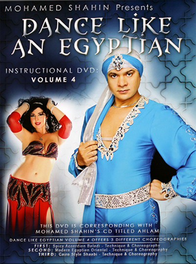 Dance Like an Egyptian Vol. 4 - Mohamed Shahin - DVD