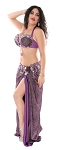 CAIRO COLLECTION: Professional Belly Dance Costume from Egypt - PURPLE
