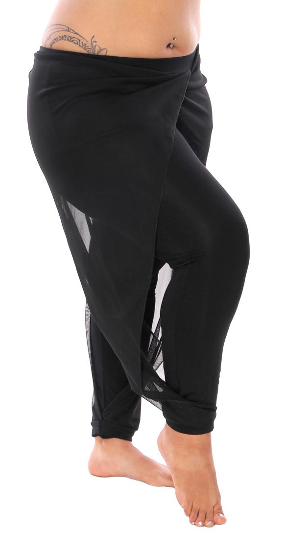 Black Mesh Drape Pants Dance Pants At Bellydance Com