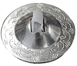 Belly Dance Finger Cymbals / Zills - SET OF 4 - SILVER