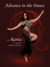 Advance In The Dance by Rania - DVD