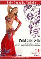 Drills! Drills! Drills! with Michelle Joyce - Instructional Belly Dance DVD