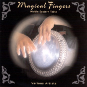 Magical Fingers - Middle-Eastern Tabla - CD