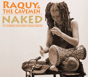Naked - Raquy and the Cavemen - CD
