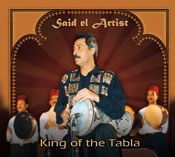 King of the Tabla - Said el Artist - CD