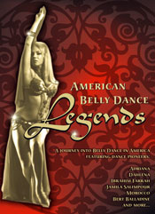 American Belly Dance Legends - DVD