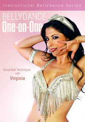 Bellydance One-on-One: Essential Technique with Virginia - DVD