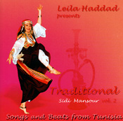 Songs and Beats from Tunisia Vol. 2 by Leila Haddad - CD