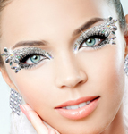Xotic Eyes Deluxe Stage Makeup Kit - ICE QUEEN