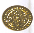 Loose Coins for Tribal and Belly Dance Costume & Jewelry Making & Repair - MEDIUM - GOLD