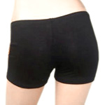 Boyshort Dance Undergarment Costume Shorts - BLACK