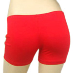 Boyshort Dance Undergarment Costume Shorts - RED