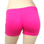 Boyshort Dance Undergarment Costume Shorts - DARK PINK