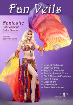 Fantastic Fan Veils with Sedona Soulfire - DVD