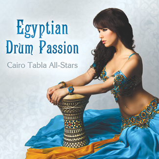 Egyptian Drum Passion - Cairo Tabla All-Stars - CD