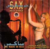 Sax Belly Dance - Ala Wahde Ou Ness - CD